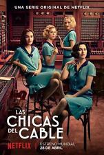 """ESPAÑA,SERIES,"""" LAS CHICAS DEL CABLE"""" 1RA TEMPORADA, 2017, 3 DVD, 8 CAPITULOS"""