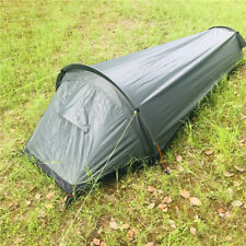 Anti-mosquito Camping Tent 1 Person Sleep Bag Outdoor Backpacking Beach Shelter