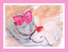 ❤️FurReal Friends Newborn Bunny Rabbit BABY Snuggimals Lot Interactive WORKS❤️