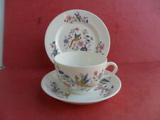 Hanley (Dudson Brothers) R.M.L. Exotic Bird Tea Trio REDUCED!