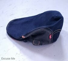 Levi's Denim Flat Newsboy Cap Hat Lined in Striped Denim O/S