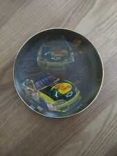 Hamilton Collection Plate 2001 - Hooked Up By Sam Bass - Dale Earnhardt #3 w/Coa
