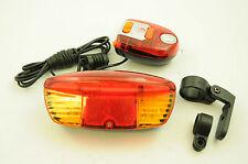"""Multi Funzione Bicicletta """"FUN"""" indicatori, luce del freno, luce LED +8 Tono BIKE HORN"""