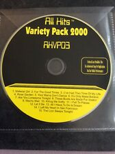 Karaoke CDG Disc - All Hits Variety Pack 2000  - AHVP03