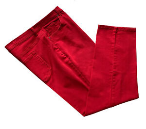 Style & Co., Red Tapered Leg Stretch Jeans with Tummy Control, size 20W