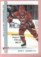 GARY ROBERTS 00/01 BAP BLUE CHICAGO SPORTSFEST /10 $40