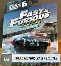 New Mattel Fast & Furious Camo Series Local Motors Rally Fighter #1/6