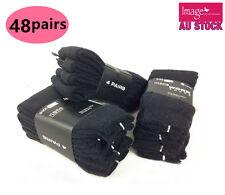 12 Pairs Men Work Sock Size 11-14 Cotton Blend Mens Work Socks 990218