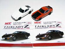 1:72 Nissan FAIRLADY Z-L (S30) White/ Z432R(PS30) Pullback Diecast 2 cars NFS