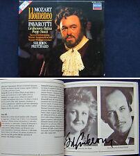 Edita GRUBEROVA Signed MOZART IDOMENEO Pavarotti Baltsa Popp Nucci PRITCHARD 3CD