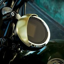 Yamaha Brass Speedometer Visor - Genuine Yamaha - Fits 2014-2018 Bolt & SCR950