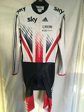 L adidas skinsuit bike cycling team GB SKY union jack LS TRA
