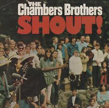 """The Chambers Brothers - """"Shout!"""" 1969 uk liberty LP. EX!"""