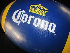 NEW Jumbo Corona Extra Football Inflatable Beer Blow up Bar Beach Ball Man Cave