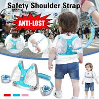 Anti Lost Kids Adjustable 1.5m/2m Baby Toddler Safety Harness Walker Bac &