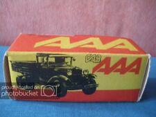 88 G BOITE VIDE CCCP GAZ AAA 085 01 9920 USSR LENINGRAD RUSSE URSS