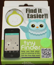 tinyFinder, Mini Bluetooth Device for Lost and Found, Brand NEW, Green / White