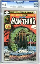 Man-Thing Vol 2  #1  CGC  9.8  NMMT  wht pages Origin Retold 11/79 J Mooney Art