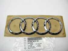 New Trunk Deck Lid Badge Emblem Rings OEM 2013-2016 Audi A4, S4, S5, 2013-15 RS5