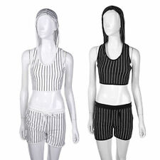 Unbranded Women's Striped Polyester Stretch, Bodycon Dresses