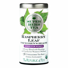 The Republic Of Tea Organic Raspberry Leaf Superherb for Women's Health