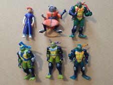 TMNT 6cm tall mutant turtle figures