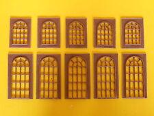 Porte e finestre a vetri in stile per edificio modellismo HO / 1:87 pz.10 - Krea