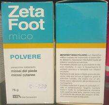 Zeta pie Mico polvo para tratamiento o prevención micosis de pie y piel