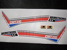 Armstrong ccm Mk1 CMT310 TWINSHOCK ENSAYOS Tank/sidepanel & Kit de pegatinas de horquilla