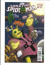AMAZING SPIDER-MAN # 2 (KIRBY MONSTER VARIANT, DEC 2015), NM NEW