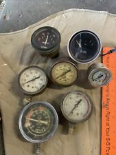 7 Pcs Vintage Gages Salavage Craft Crafters Steampunk Untested