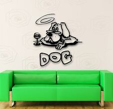 Wall Stickers Vinyl Decal Funny Dog Animal Witty Decor Room (ig601)