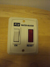 Suburban Water Heater On/Off Switch w/Red Indicator light RV Camper Motorhome
