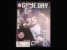 George Martin & Wellington Mara Autographed 1996 NFL Game Day Magazine