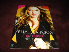 KELLY CLARKSON ALL I EVER WANTED TOUR CONCERT BOOK