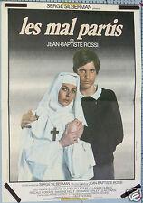 AFFICHE ANCIENNE CINEMA FILM 1983 LES MAL PARTIS