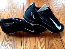 Nike Lunar Vapor Pro Baseball Softball Cleat Men 9 Black/White-anthracite
