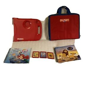 Electronic Story Reader System Red Finding Nemo Book Cartridge 2003 Vtg