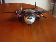 DISNEY PIXAR TRANSPORT PLANE WITH THREE CARS