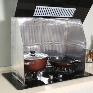 Kitchen Oil Splash Guard Gas Stove Cooker Oil Removal Scald Proof Board Prote FF