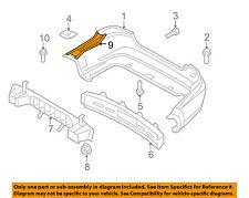 Chevrolet GM OEM 07-11 Aveo Rear Bumper-Reinforcement Left 96648656