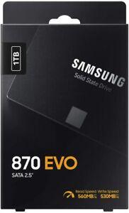 "Samsung SSD 870 EVO, 1 TB, Form Factor 2.5"", Intelligent Turbo Write, Magician"