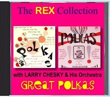 Larry Chesky & His Orchestra - Great Polkas - POLKA CD