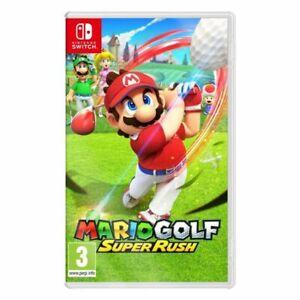 Mario Golf Super Rush SWITCH ***PRE-ORDER ITEM*** Release Date: 25/06/21