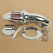 Chrome Cone Spike Air Cleaner Intake Filter For Yamaha Vstar XVS 1100 Custom TC