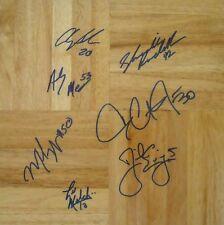 2003 Duke ACC Champs team auto floor Daniel Ewing Dahntay Jones Shavlik Randolph