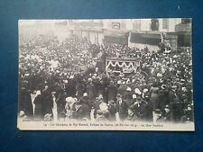 L119. CPA. Loire Atlantique. Nantes. Obsèques de Mgr Rouard 26/02/1914