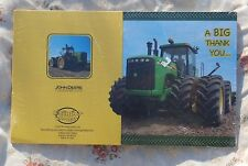 8 John Deere Thank You For Coming to my Party Cards,  Licensed Product, BDay
