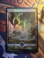 Battle for Zendikar Swamp Textless n°262 Foil   VO  -  MTG Magic (Mint/NM)