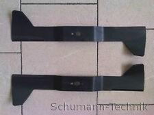 Paar Messer / Mähmesser für Iseki Rasentraktor SXG15 mit Mähdeck SCMA 40